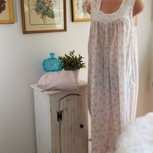 Charter Club long floral nightgown bundle of 2
